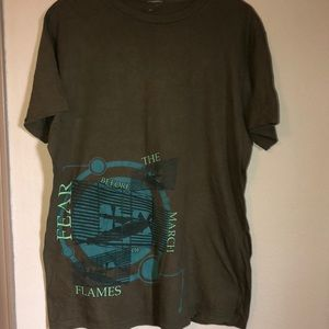 Fear before the march of flames band tee